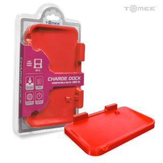 Charge Dock For Nintendo 3DS® XL (Red) - Tomee