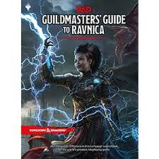 Dungeons & dragons D&D Guildmasters' Guide to Ravnica