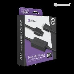 3-In-1 HDTV Cable For GameCube®/ N64®/ Super NES® - Hyperkin