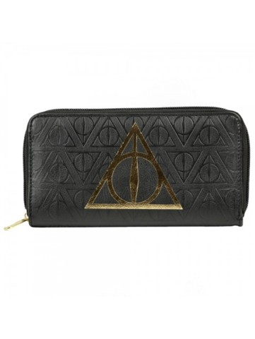 Harry Potter - Deathly Hallows - Large Zip Around Wallet