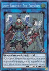 Ancient Warriors Oath - Double Dragon Lords - ROTD-EN048 - Super Rare - 1st Edition