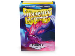 Dragon Shield Sleeves: Matte Purple (100 Standard Size)