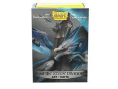 Dragon Shield Sleeves: Art Matte Empire State Dragon (100 Standard Size)