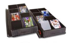 Toploader & ONE-TOUCH card sorting tray