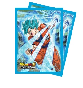 Ultra Pro - Dragon Ball Super: Standard Size Deck Protector 65Ct - Super Saiyan Blue Son Goku