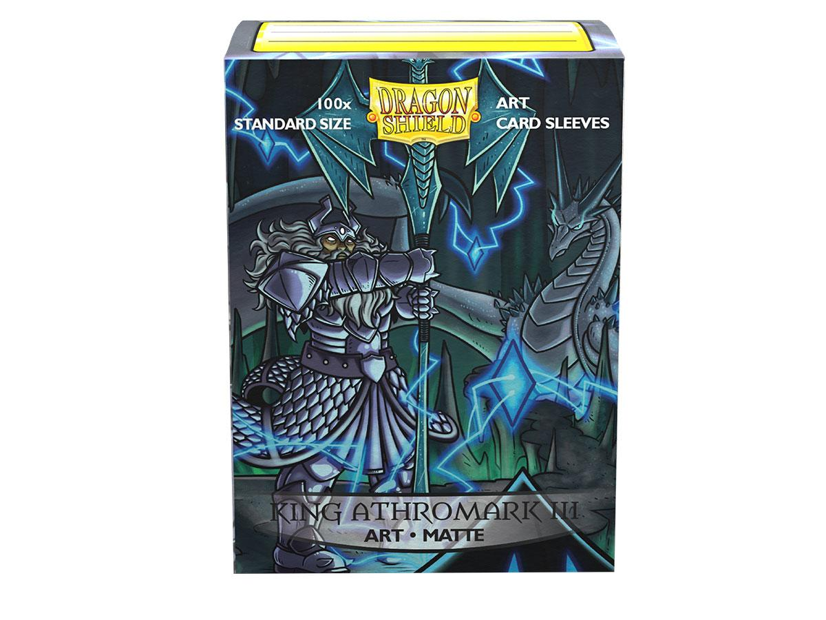 Dragon Shield Sleeves: Art Matte King Lear Athromark III Coat-of-Arms (100 Standard Size)