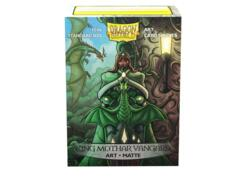 Dragon Shield Sleeves: Art Matte King Mothar Vanguard Portrait (100 Standard Size)
