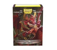Dragon Shield Sleeves: Art Classic Valentine Dragon (100 Standard Size)