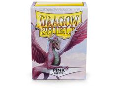 Dragon Shield Sleeves: Matte Pink (100 Standard Size)