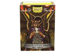 Dragon Shield Sleeves: Art Matte Queen Athromark Portrait (100 Standard Size)