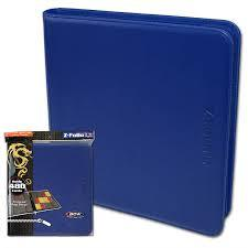 Zipper Folio 12-Pocket - LX - Blue