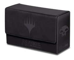 Dual Mana Flip Deck Box Black