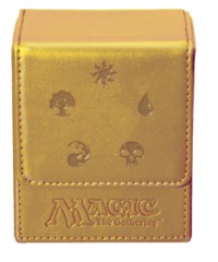 UltraPro Deck Box MtG Mana Flip - Gold