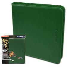 Zipper Folio 12-Pocket - LX - Green