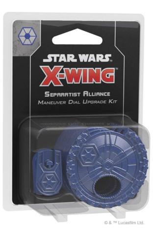Star Wars X-Wing: Separatist Alliance Maneuver Dial Upgrade Kit