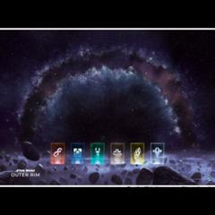 Star Wars: Outer Rim - Play Mat - Game Mat