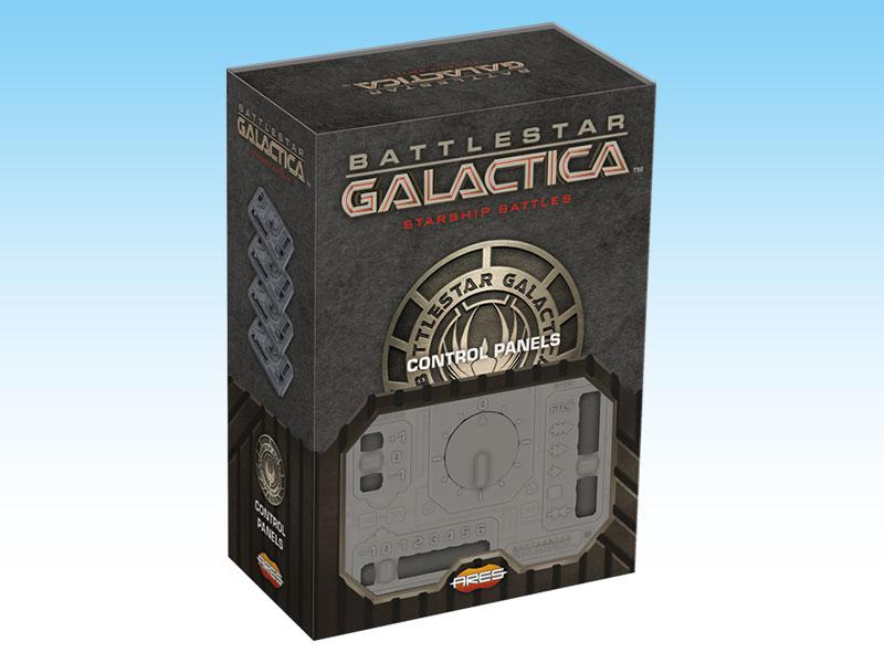 Battlestar Galactica — Starship Battles --- Control Panels
