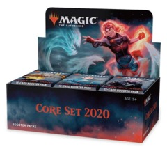 Pre Order Sealed Booster Box of Core Set 2020 with Buy-a-Box Promo