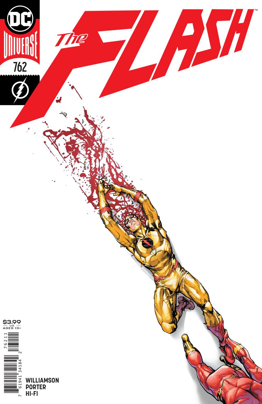Flash Vol 1 #762 Cover A Howard Porter