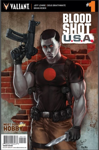 Bloodshot USA #1 (Of 4) MGH Exclusive Dawn McTeigue Variant