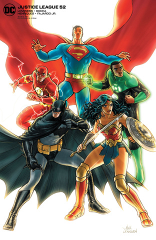 Justice League Vol 4 #52 Cover B Nick Derington Variant