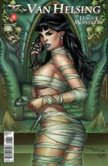 Van Helsing vs The League of Monsters #6 Cover D Derlis Santacruz