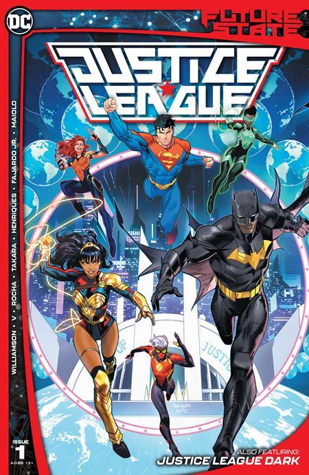 Future State Justice League #1 (Of 2) Cover A Dan Mora