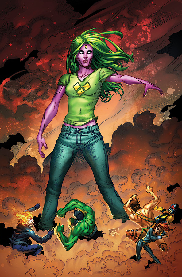 NOW Champions #1 Most Good Exclusive #1 Nei Ruffino Variant