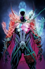 Spawn #301 Cover P J Scott Campbell Virgin Variant