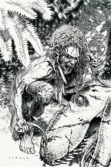Savage #2 Cover F 1:50 Variant B&W Sketch Larosa