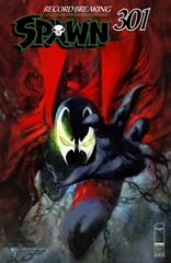Spawn #301 Cover M Bill Sienkiewicz Variant