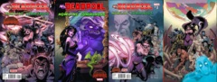 Mrs Deadpool And Howling Commandos Lot 1 2 3 4 Set (Secret Wars)