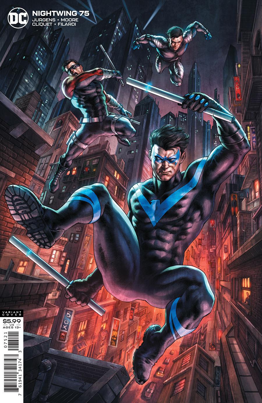 Nightwing Vol 4 #75 Cover B Alan Quah Variant