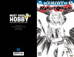Harley Quinn #1 Most Good Exclusive EBAS INKED Variant (REBIRTH)