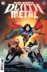 Dark Nights Death Metal #3 (Of 6) 3rd Printing Greg Capullo Variant