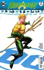 Aquaman Vol 8 Rebirth #1 Cover B Ryan Benjamin Variant (REBIRTH)