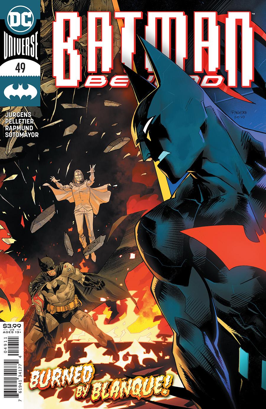 Batman Beyond Vol 6 #49 Cover A Dan Mora