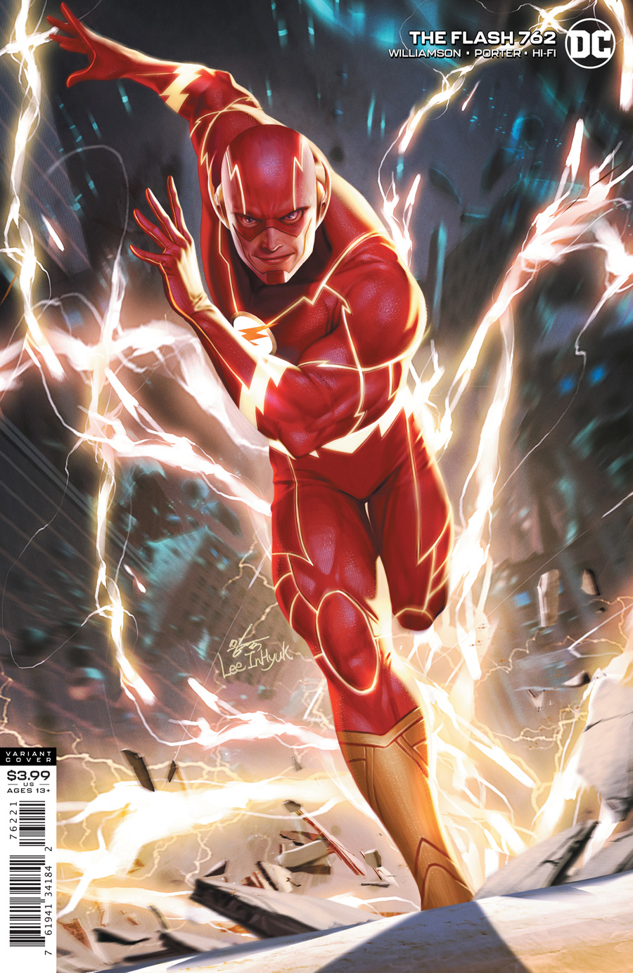 Flash Vol 1 #762 Cover B Inhyuk Lee Variant
