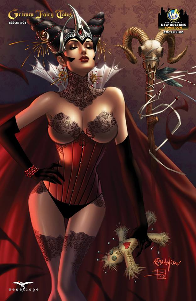 Grimm Fairy Tales #94 Cover D Franchesco 2014 WW New Orleans Exclusive LTD 350