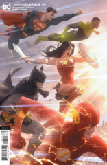 Justice League Vol 4 #49 Cover B Alex Garner Variant