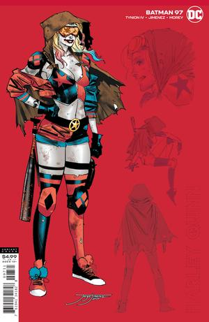 Batman Vol 3 #97 Cover C 1:25 Jorge Jimenez Harley Quinn Variant