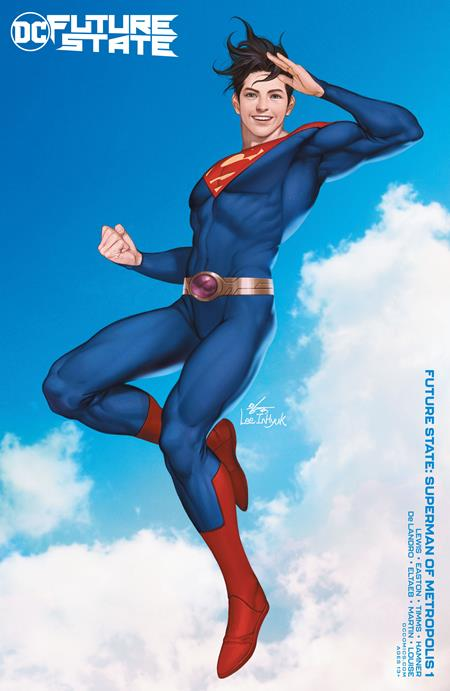 Future State Superman Of Metropolis #1 (Of 2) Cover B Inhyuk Lee Variant