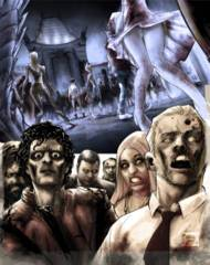 Hollywood Zombie Apocalypse #1 (Of 2) Cover D Caldwell