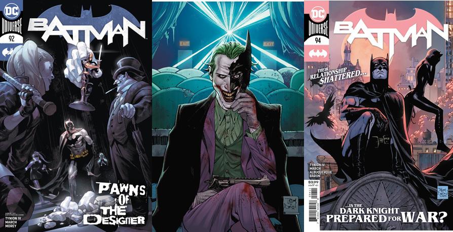 Batman Vol 3 #92 #93 #94 Cover A Road To Joker War 3 Issue Lot