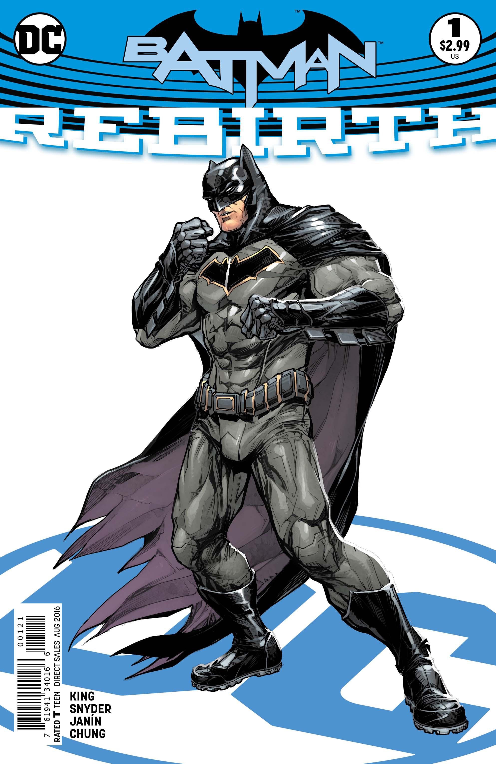 Batman Vol 3 Rebirth #1 Cover B Howard Porter Variant (REBIRTH)