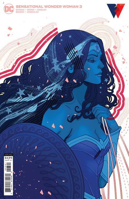 Sensational Wonder Woman #3 Cover B Marguerite Sauvage Variant