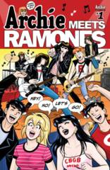 Archie Meets Ramones One Shot Cover A Regular Gisele Lagase