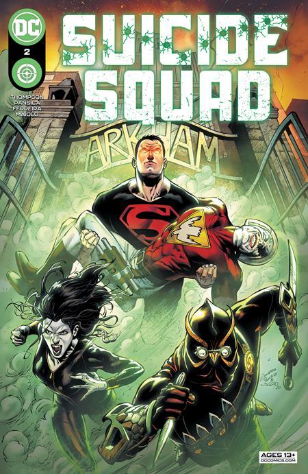 Suicide Squad Vol 7 #2 Cover A Eduardo Pansica