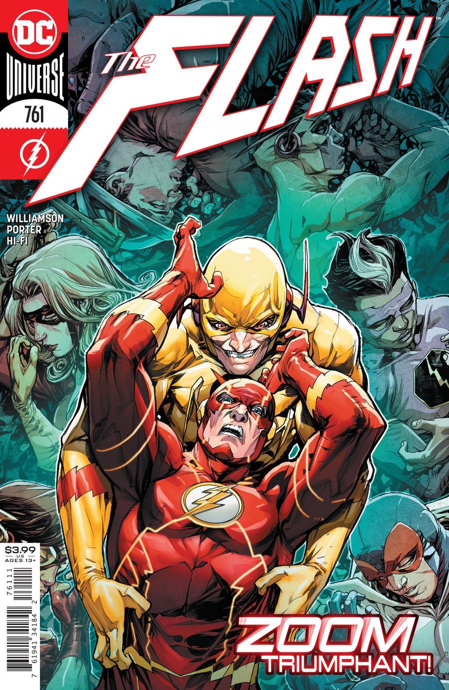 Flash Vol 1 #761 Cover A Howard Porter