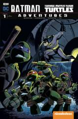 Batman Teenage Mutant Ninja Turtles Adventures #1 (Of 6) 1:10 Variant